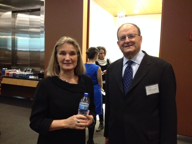JJI Pres. Betsy Clarke and Jenner & Block Partner Jeffrey Colman